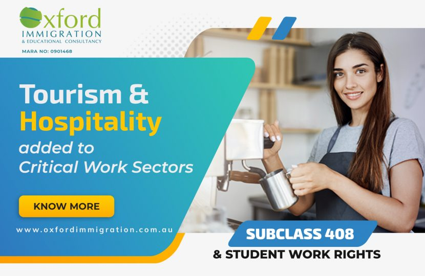 Tourism & Hospitality added to Critical Work Sectors in Australia