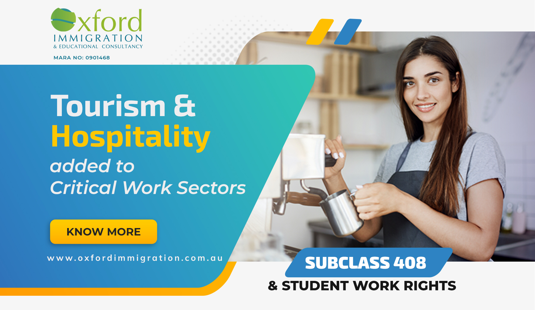 Tourism and Hospitality in Australia added to critical work sectors
